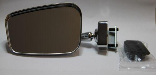 CLASSIC FIAT 500 MINI CHROMED MIRROR /'Rectangular/' Design RIGHT CLASSIC CAR