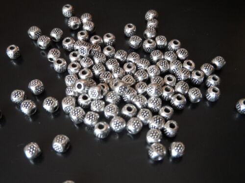 De 90 a 720 Bolas Zamak B02-07 A.1,6mm cuentas abalorios ¡¡¡OFERTA 2x1!!