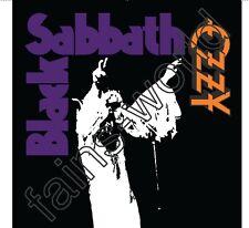 BLACK SABBATH OZZY OSBOURNE FLAG POSTER 4' X 4'