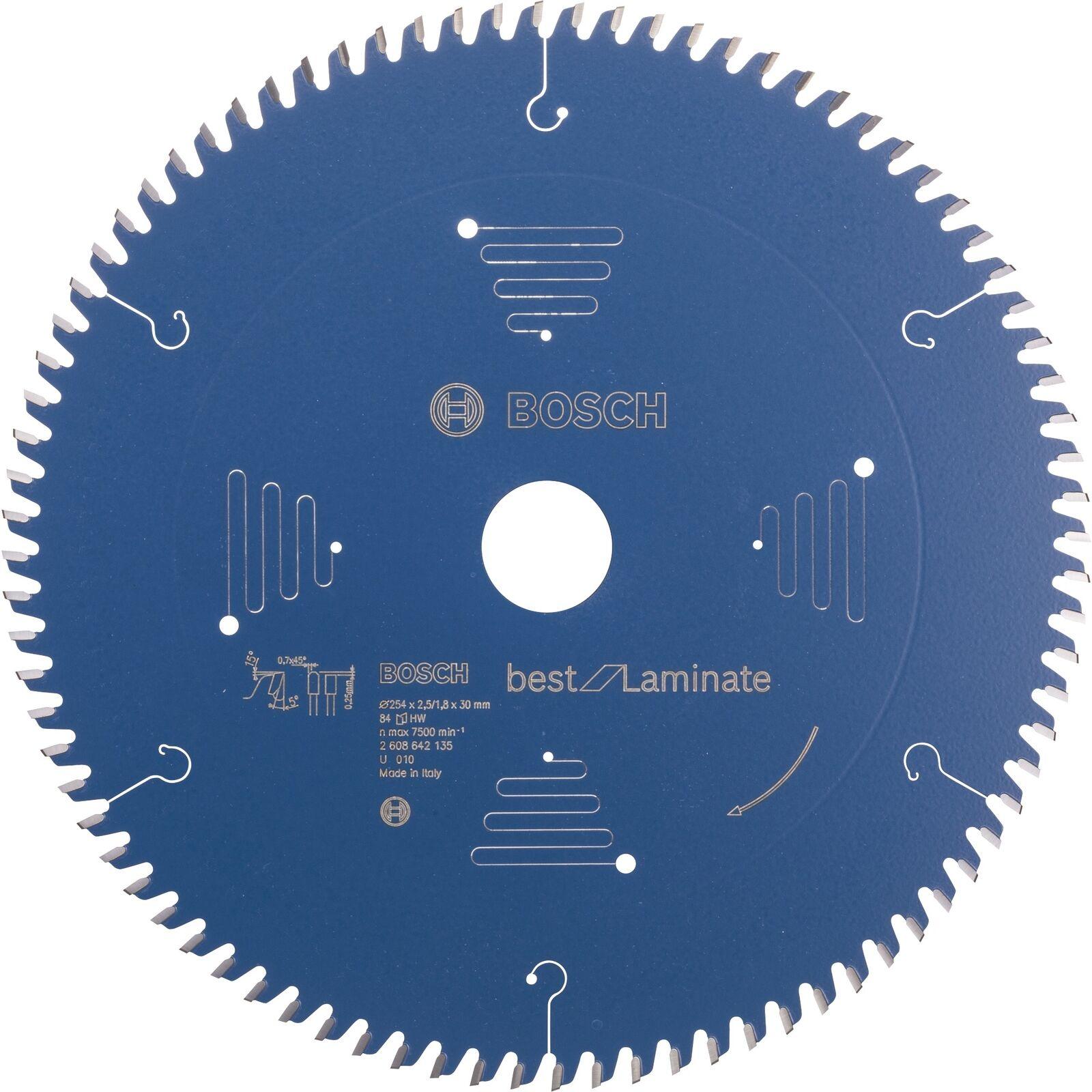 Bosch Professional Kreissägeblatt Best for Laminate, Sägeblatt