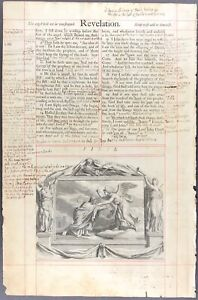 Details about 1611 King James Bible Leaf Revelation 22 - 1717 Largest &  Smallest English Bible