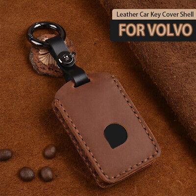 Remote Key Shell for VOLVO XC40 XC60 S90 V90 XC90 Case Fob Carbon Fiber 3D Blue