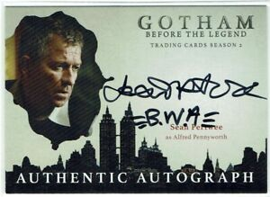 Gotham Season 2 Autograph Card SP Sean Pertwee as Alfred Pennyworth VARIANT (B)