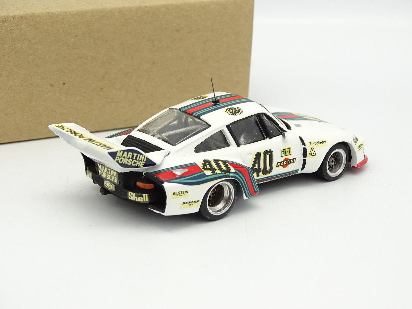 MRE Kit monté Métal 1 43 - Porsche 935 Le Le Le Mans 1976 Martini N°40 1df967