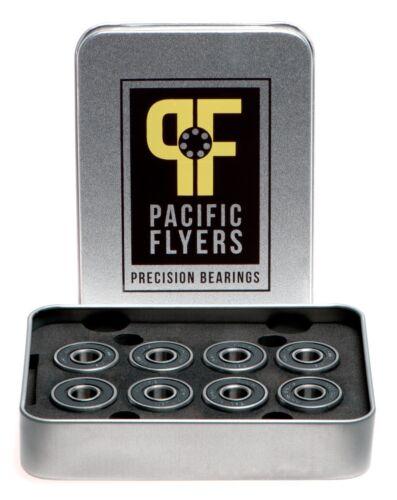 Pacific Flyers Premium Ceramic Si3N4 Silicon Nitride Skateboard Bearings