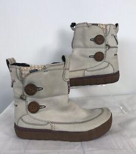MERRELL-Tempest-Ladies-Silver-Birch-Waterproof-Winter-Boots-UK-6
