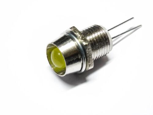 10 unidades30 unidades diodo emisor LED 5mm soporte zócalo fijación versión de Metal