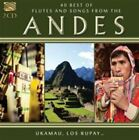 40 Best of Flutes and Songs From The Andes 5019396250925 by Various Artists CD
