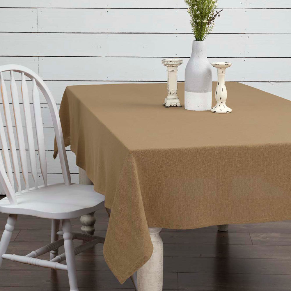 Burlap Natural Table Cloth by VHC VHC VHC Brands - 60  x 102  Tablecloth 5b5e58