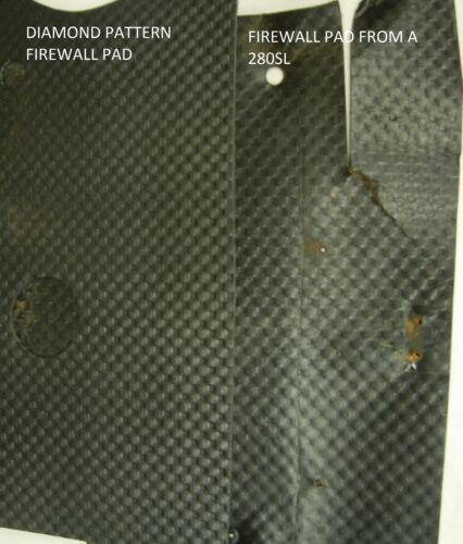 Motif Diamant Pare Feu Pad W113 113 230 250 280 Stirnwand Dã ¤ Mmatte Concourse
