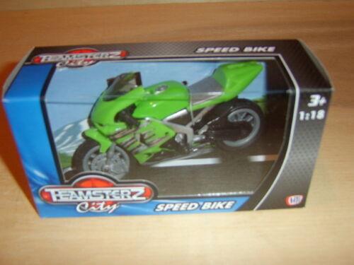 Teamsterz Ciudad Speed Bike.1.18 Escala 4 a collect.new boxed.delivery Garantizado