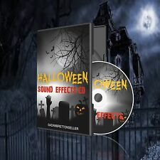 HALLOWEEN SOUND EFFECTS CD - PARTY SCARY SPOOKY KIDS