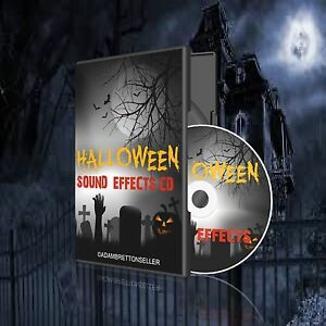 image is loading halloween sound effects cd party scary spooky kids