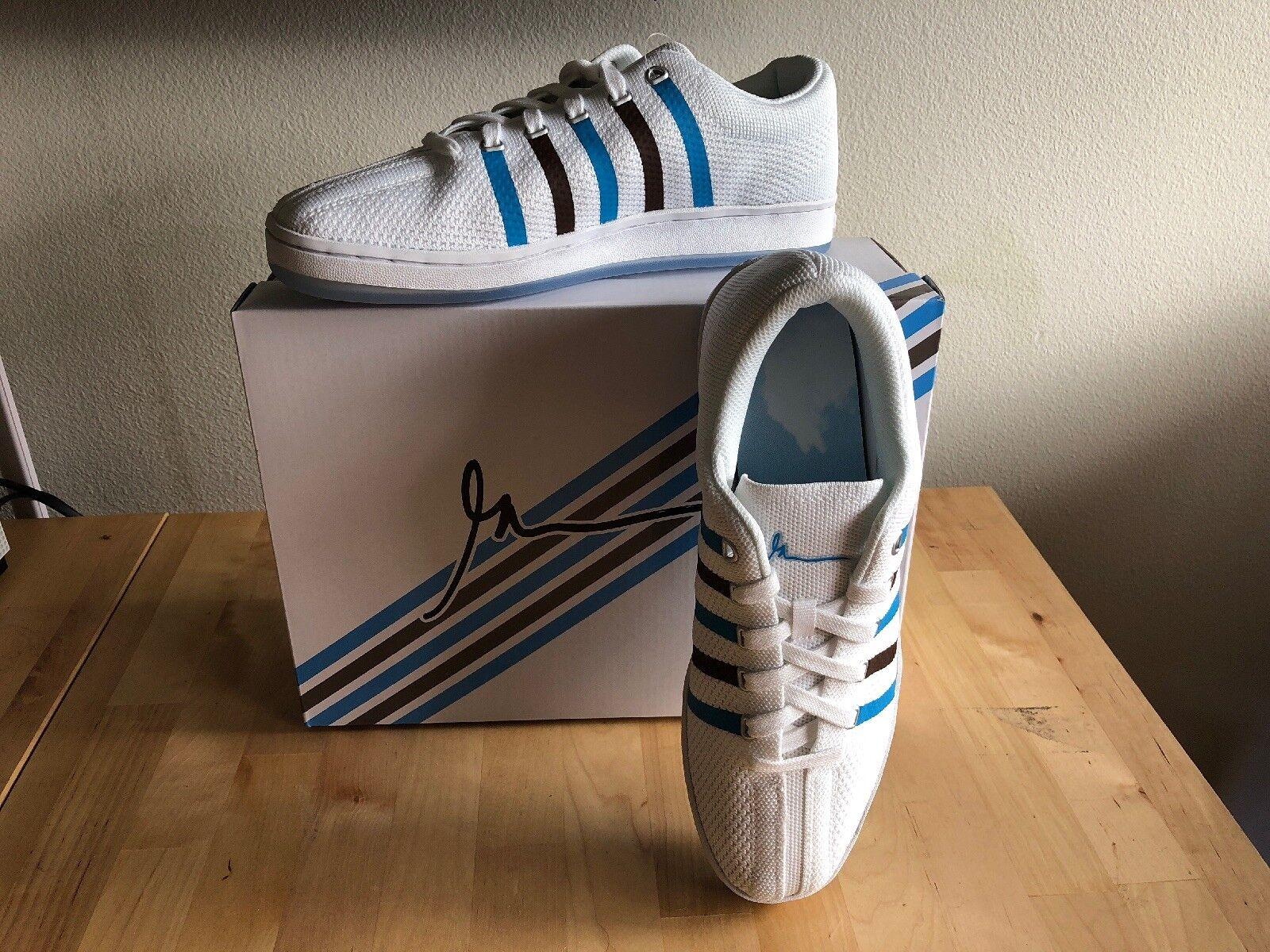GARY VEE 003 KSWISS 88 KNIT CLOUDS & DIRT Garyvee Sneakers MENS 10 Sold Out!