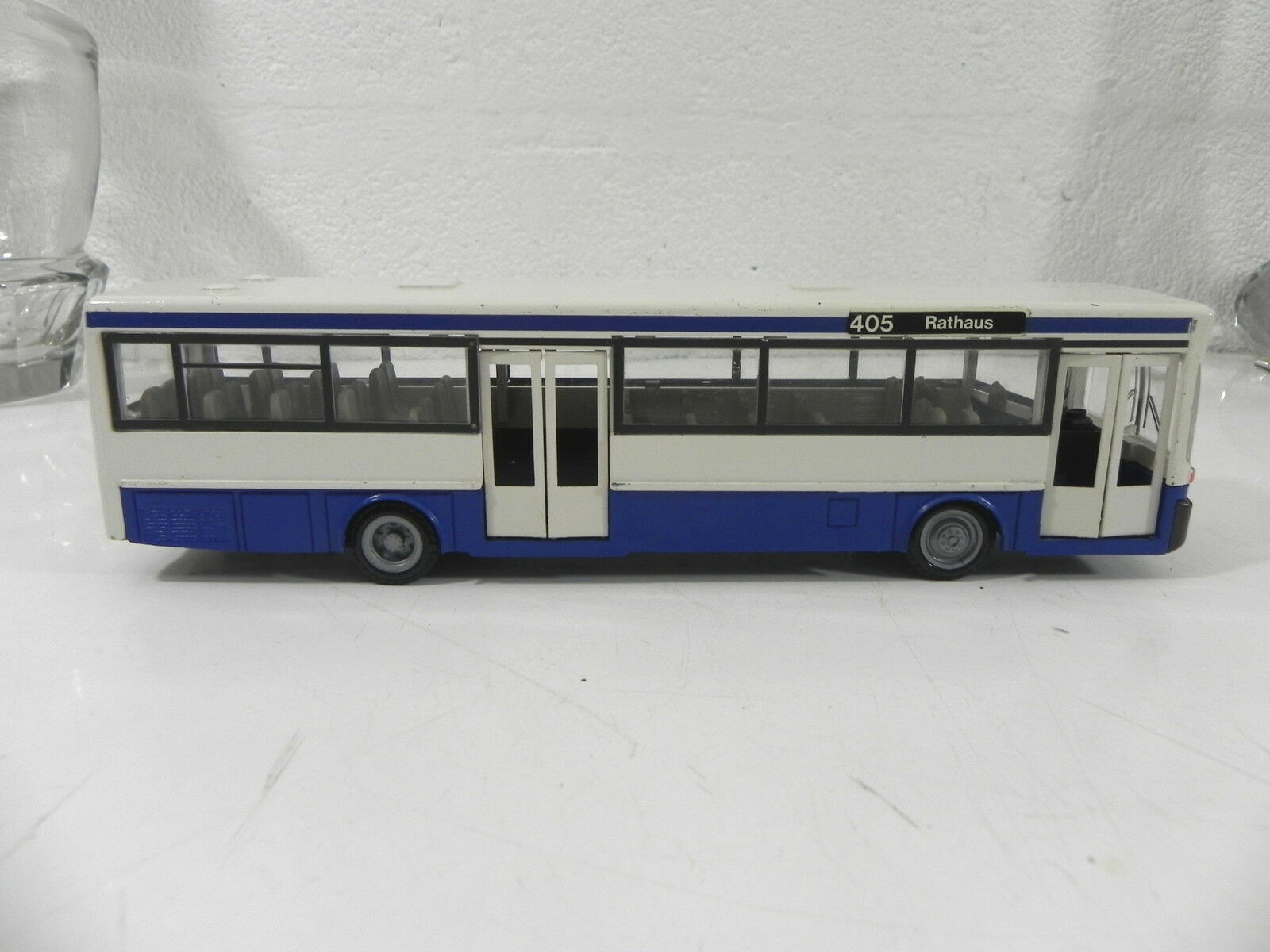 NZG MODELLE 1 50 N° 255 Autocar bus MERCEDES BENZ BENZ BENZ O 405 Rathaus 7e1977