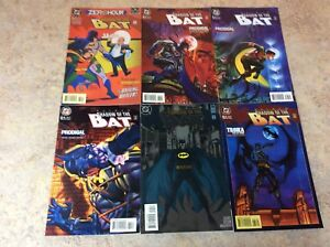 BATMAN-SHADOW-OF-THE-BAT-31-32-33-34-35-35-LOT-OF-6-NM-COMIC-1994-1995-DC