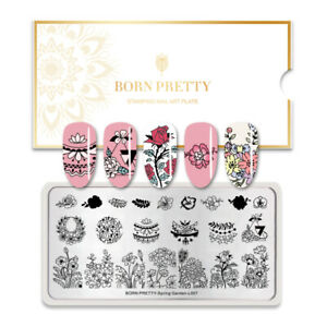 BORN-PRETTY-Rectangle-Nail-Stamping-Plates-Nail-Art-Stamp-Stencil-Templates-Tool