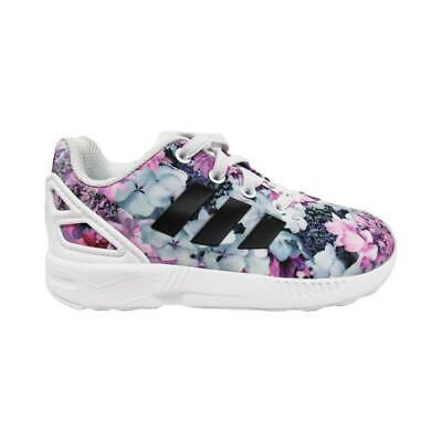 Infants Girls ADIDAS ZX FLUX EL I Floral Trainers BB4203 | eBay