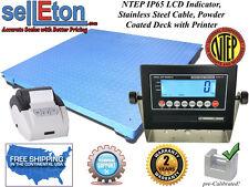 Ntep Legal 60 X 60 Floor Scale Industrial Digital Amp Printer 5000 X 1 Lb