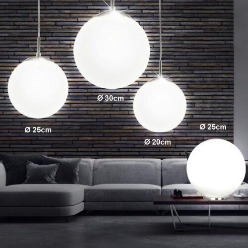 LED Hänge Leuchten Pendel Kugel Decken Lampen Glas Wohnraum Strahler Beleuchtung