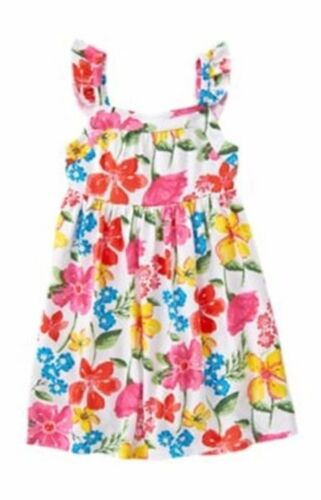 NWT Crazy 8 ISLAND VACATION Colorful Floral Knit Dress DRESS