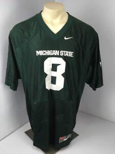 quality design 06f61 bb371 VTG Team Nike Michigan State Football Jersey #8 BLANK Kirk ...