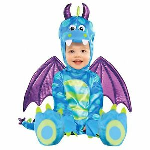7781c223818d0 Details about Baby Little Train Dragon Costume Dinosaur Jurassic Dino  Toddler Cute Plush