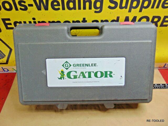 Greenlee ES2511 Gator 14.4v Cordless ACSR Cable Cutter Kit for sale online