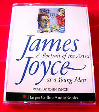 James Joyce A Portrait Of The Artist As A Young Man 2-Tape Audio Book John Lynch