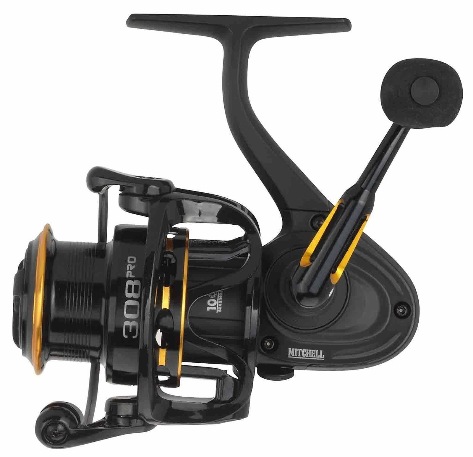MITCHELL 308 PRO FRONT DRAG FIXED SPOOL SPINNING REEL