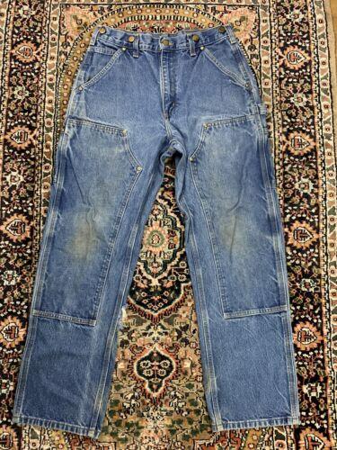 Vtg Carhartt Double Knee Work Pants Size 30x30 Wor