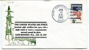1967 United States Air Force Cape Kennedy Fla Canaveral Register Vote Usa Space Chaud Et Coupe-Vent