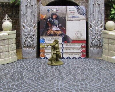 New Bruce Game Night Zombicide CMoN D/&D RPG minis green horde highlander 32 mm