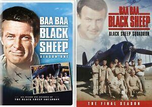 Baa Baa Black Sheep Complete TV Series Seasons 1 2 (1-2) NEW DVD Set Bundle