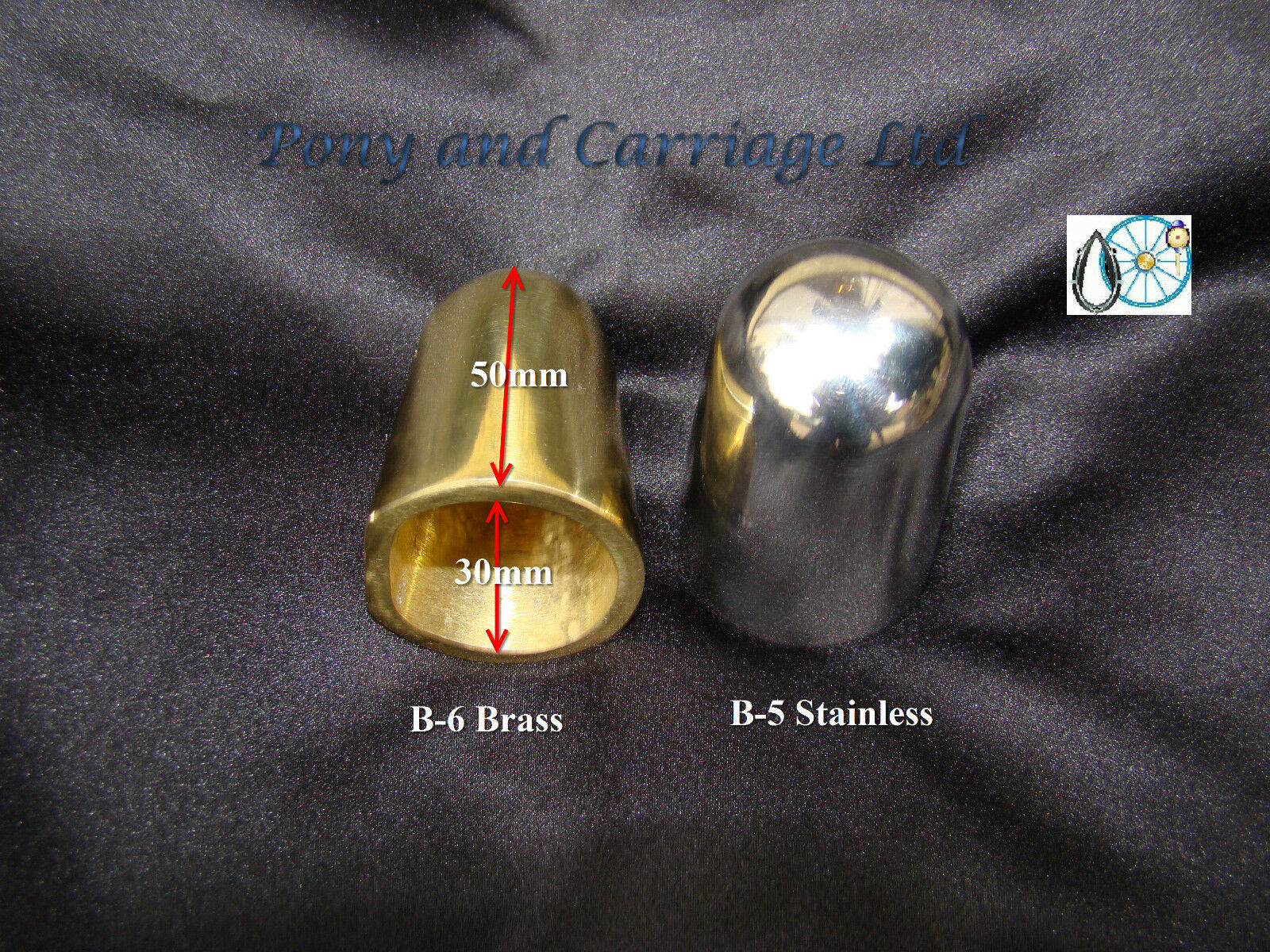 Horse Carriage Gig Solid Brass Stainless Shaft Ends Tips Wood  Metal Shafts B5 B6  outlet online store