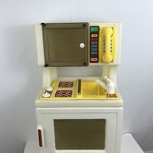 Image Is Loading Vintage Little Tikes Kitchen Stove Sink Microwave Combo