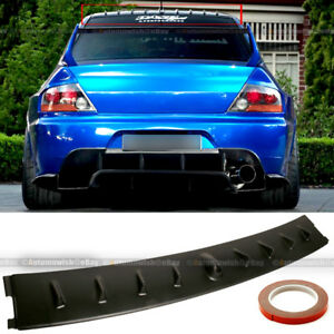 Details about For 03-07 Lancer Evolution EVO 8 VIII Vortex Generator Shark  Fin Roof Spoiler