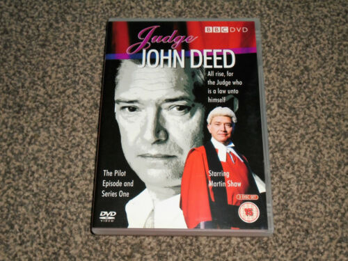 1 of 1 - JUDGE JOHN DEED : SERIES ONE (1) + PILOT - 3 DISC DVD IN VGC (FREE UK P&P)