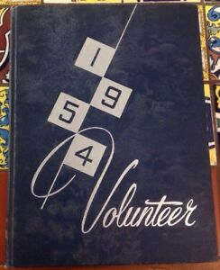 The-1954-Volunteer-University-Of-Tennessee-Yearbook-Christian-Library-Copy