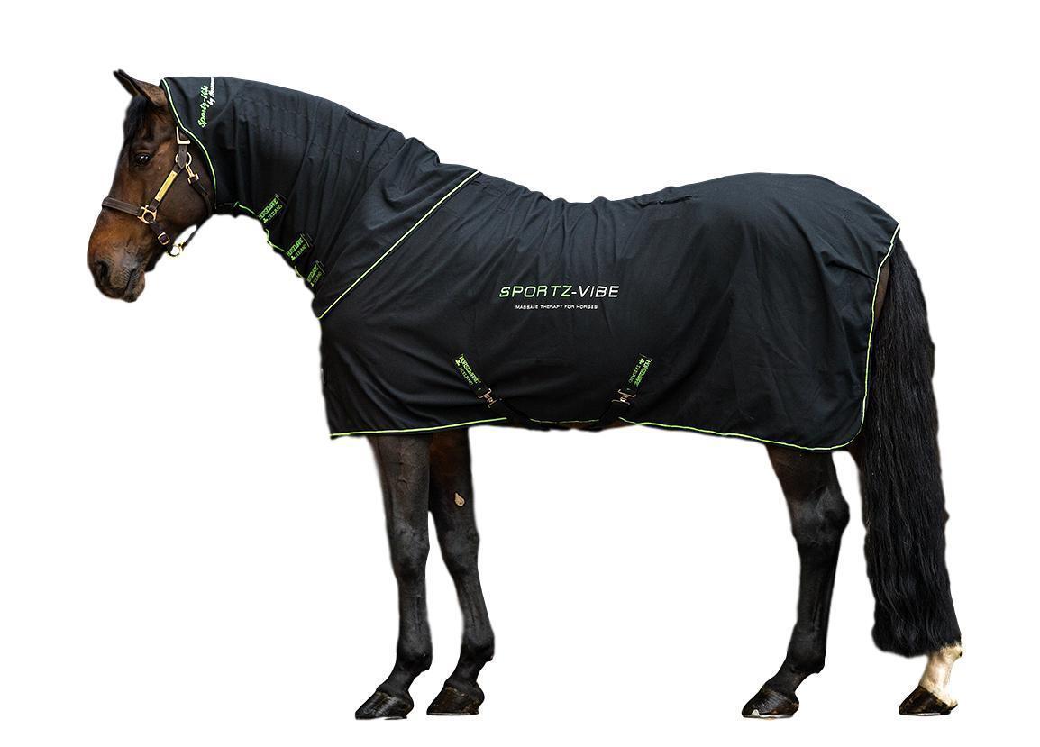 Horseware Ireland Sportz-Vibe Couverture Cheval Massage Therapy Warm-up ou de récupération