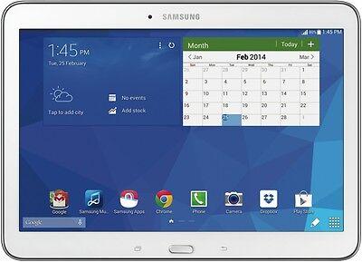 "Samsung SM-T530NZWAXSA Galaxy Tab 4 10.1"" 16GB WiFi White NEW"