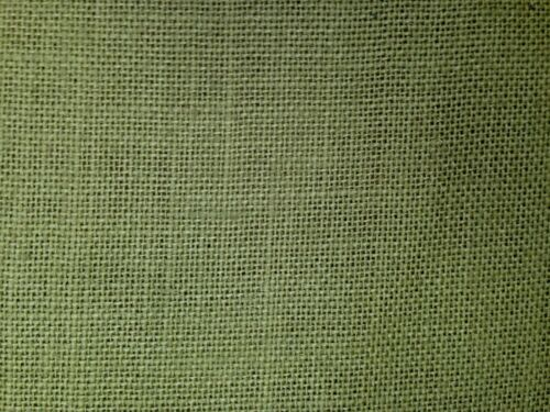 Tex Ex Olive Green Hessian Fabric Wedding Party Decoration Craft Upholstery