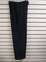 Qvc Dialogue Black Dress / Career Pants Size 10 -