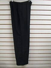 QVC Dialogue Black Dress / Career Pants Size 16 - NWT