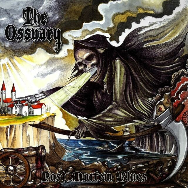THE OSSUARY - POST MORTEM BLUES   CD NEUF