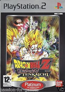 Details About Dragon Ball Z Budokai Tenkaichi For Playstation 2 Ps2 With Box Manual Pal
