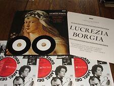 Donizetti: Lucrezia Borgia. Perlea. 3xLP Box Set + FREE transcribed CDs.