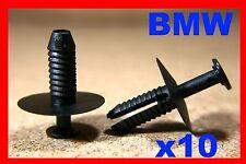 10 BMW series E46 bumper fender fascia panel trim fastener rivet clip front rear