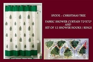 Spode Christmas Tree Shower Curtain