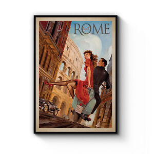 Rome Wall Print Italy Travel Print Rome Poster Rome Photography Print